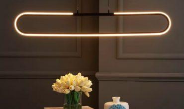 51 colgantes y candelabros lineales para una iluminación elegante y perfectamente uniforme
